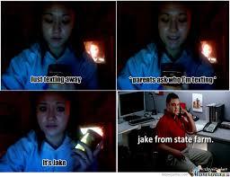 Jake State Farm Meme - jake from statefarm by aittouk meme center