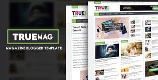 true mag professional newspaper magazine blogger template ms