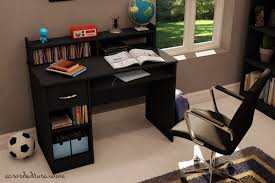 South Shore Computer Desk South Shore Furniture Axess Desk With Keyboard Tray Pure Black
