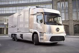 future mercedes truck mercedes benz unveils all electric urban etruck at iaa