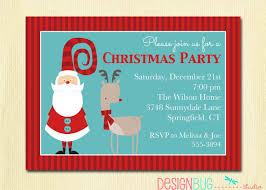 christmas party invitation secret santa holiday party