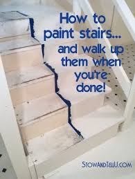 Stairs To Basement Ideas - best 25 painting stairs ideas on pinterest paint stairs