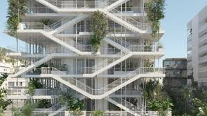 Design House Inside Out by French Architects Unveil Plans For Bio Climatic U0027inside Out
