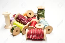 ribbon spools heap of ribbon spools stock photo picture and royalty free image