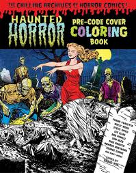 comic book color the beauty of horror a goregeous coloring book u2013 idw publishing