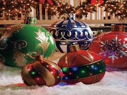 Lighted Christmas Decorations by Large Outdoor Christmas Decorations Simple Outdoor Com