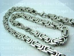 mens silver byzantine necklace images 2018 9 6mm huge heavy silver byzantine chain necklace amp jpg