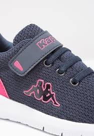 kappa trust sports shoes navy pink kids clearance sale kappa