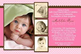 baptism christening and naming invitations for pastel pink