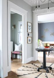 going gray in the entryway inspired by charm