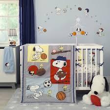 Honey Bear Crib Bedding by Bedtime Originals Snoopy Sports 3 Piece Crib Bedding Set Wayfair