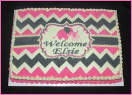 best 25 baby shower sheet cakes ideas on pinterest baby girl pink and gray chevron baby elephants girl s baby shower cake buttercream icing