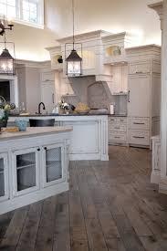 Hardwood Floor Kitchen Dream Kitchen Distressed And Stained Gray Vintage Hardwood