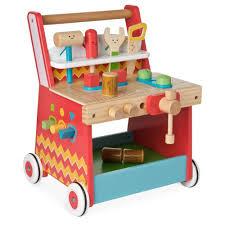 elc wooden activity workbench baby bunting