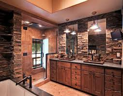custom bathroom ideas beautiful rustic bathroom design ideas