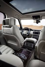 luxury minivan interior best 25 range rover interior ideas on pinterest range rover car