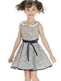 kate mack girls navy blue daisy chain sleeveless dress 816 llbd shop