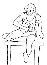 coloriage des sports des jeux olympiques d u0027été
