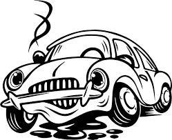 toy car grease coloring page wecoloringpage
