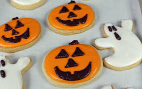 halloween sugar cookies with royal icing vegan one green planet