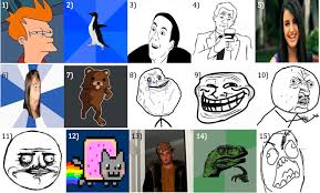List Of Memes And Names - internet memes quiz by willwo