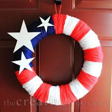 the creative imperative american flag wreath sort of