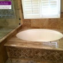 Travertine Bathtub Natural Stone And Quartz Slab Fabricator Take Us For Granite