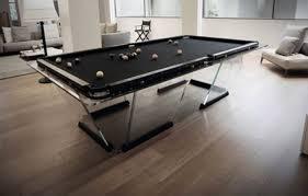 luxus glass billiard table modern billiard table