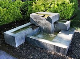Water Features Backyard by Best 25 Concrete Fountains Ideas On Pinterest Stone Water