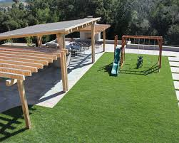 pergola patio with kids swing set patio design ideas 2821