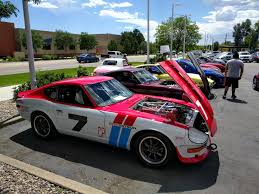 datsun race car meetup for the colorado z club datsun