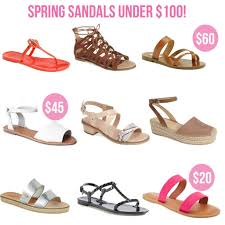 spring sandals under 100 life with emily