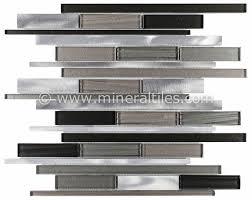 Best Aluminum Mosaic Tiles Images On Pinterest Kitchen - Aluminum backsplash
