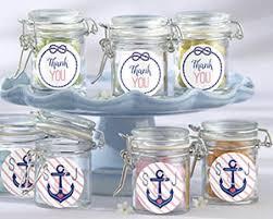 favor jars personalized nautical bridal glass favor jars set of 12