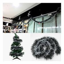 snow tip pine garland decorations in sri lanka