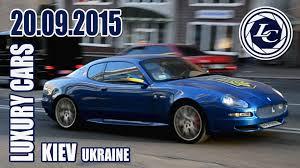 maserati gransport 2015 luxury cars in kiev 20 09 15 maserati gransport coupé youtube