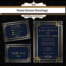 gatsby wedding invitations 35 best wedding invitations images on deco wedding