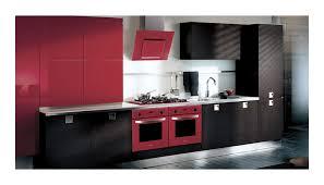 cuisine en chene repeinte cuisine rustique rouge meilleure inspiration pour votre design