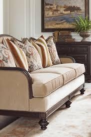 exposed wood frame sofa colorado style home furnishings