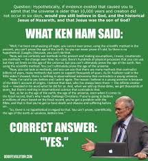 Ham Meme - a meme about the hamonnye debate god of evolution