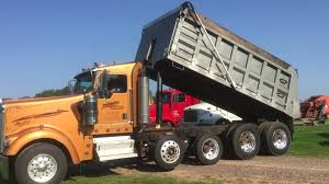 used kenworth w900 2008 kenworth w900 quad axle dump truck for sale by online auction