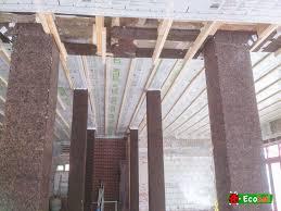 liege isolation sol chantier avec isolation en liège pour le thermique et l u0027acoustique