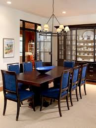 blue dining room chairs along with captivate natural rustic table