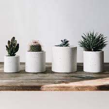 concrete planters white concrete planter from the future kept find love buy