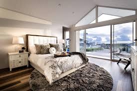 tapis rond chambre design interieur chambre coucher moderne tapis rond poils longs lit