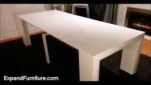 Space Saving Dining Set by Space Saving Table Becomes Massive Dinner Table Expand Furniture