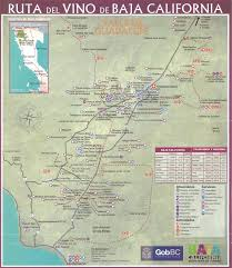Map Of Ensenada Mexico by The Sommelier Update Valle De Guadalupe