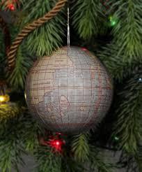 ornament world globes