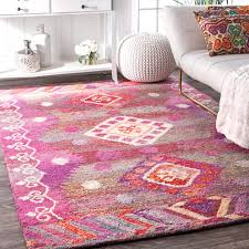 5ft Round Rug by Pink Nuloom Area U0026 Accent Rugs Sears