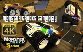 monster truck games videos for kids monster trucks gameplay 4k video kids games videos for